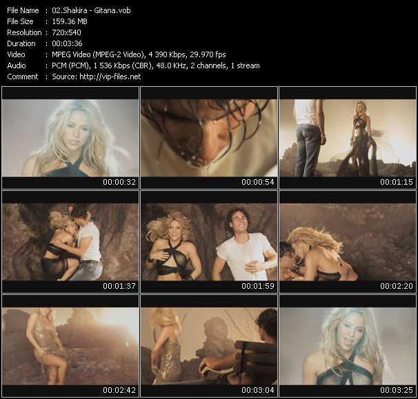 download shakira music videos